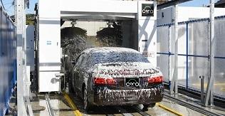 スポンジブラシ洗車機