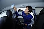 車内清掃 除菌抗菌